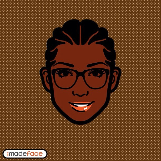 New favorite app #imadeface they need to get locs though.