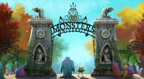 whiteorangeflower:  Soon or later,Monster University will come…