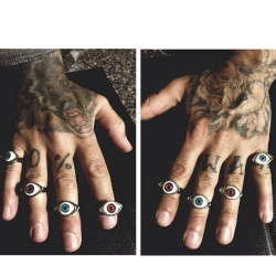 Eye ball rings on sale! 👀 (at moonshineapparel.bigcartel.com)