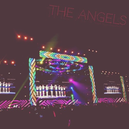 """The Angels"" #concert #GG #GirlsGeneration #angel #korean #singer #girlband #smtown"