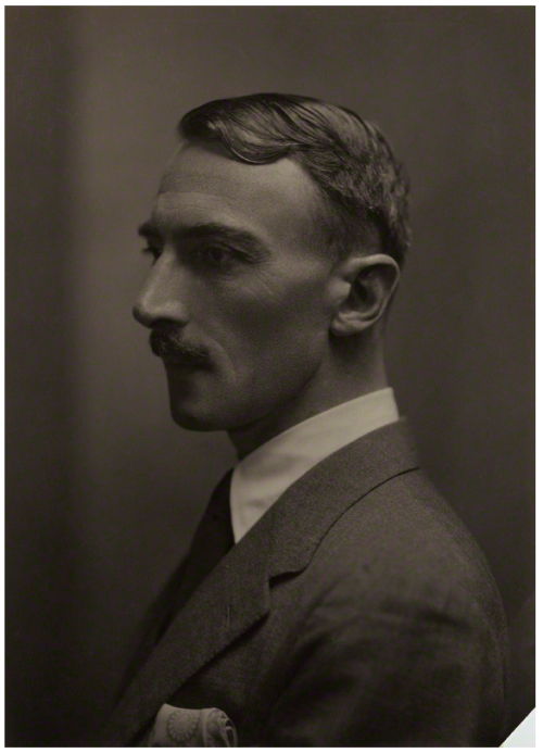 Dornford Yates (Cecil William Mercer), 1926 E.O. Hoppé