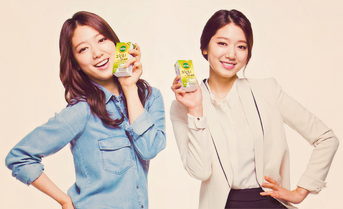 Park Shin Hye for Vegemil Soy Milk