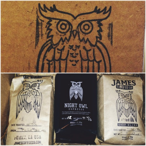 Dave Kennedy from Angels and Airwaves started his own coffee company called James Coffee Co. Got my first batch today and can't wait to try it. Heard nothing but extremely positive things about his blends. Order some at http://jamescoffeeco.com!