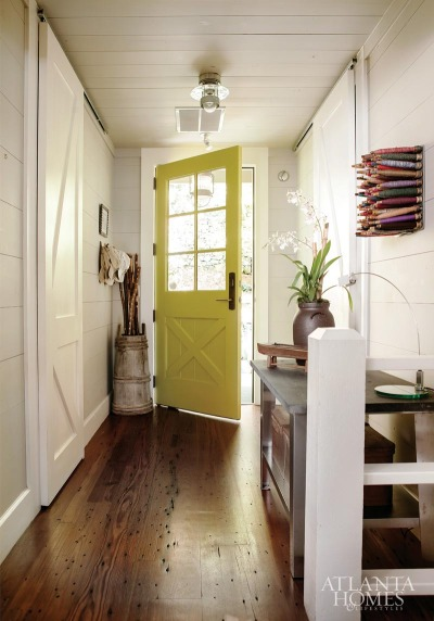 myidealhome:   yellow door
