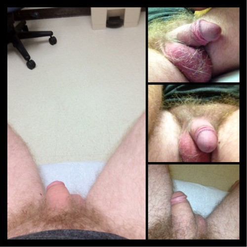 fullfrontalwife-husband:At doctors waiting for her to cum in!