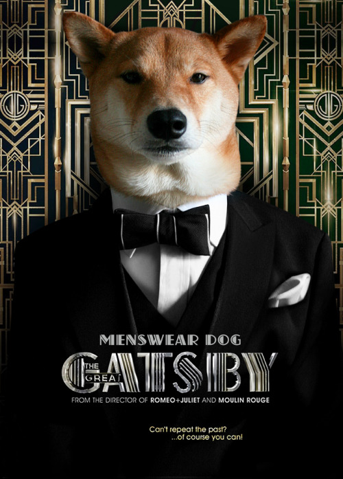 "Gats & Dogs Joining in on the unanimous fashion boner that Baz Luhrmann's The Great Gatsby has garnered, here's Menswear Dog's take on the opulent classic. The movie itself is more style than substance but that's perfect for us because we're not a movie blog. Baz Luhrmann goes over-the-top decadent in this rendition, but makes sure to pay attention to all the little details that make fashion bloggers go gaga. From collar pins to pattern-mixing to masterfully tailored 3-piece rigs; this is less a movie and more a moving mood board for the roaring twenties…and we're ok with that. It opened nationwide this weekend so check it out. ""It makes me sad because I've never seen such – such beautiful shirts before."" The Great Gatsby, Chapter 5"