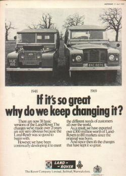 ovalnews:  If it's so great why do we keep changing it? 1969