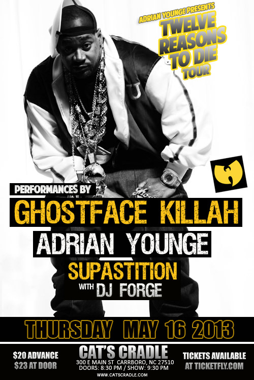 Supastition just added to the Ghostface show…