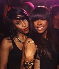 esmasweetheart:  Sevyn and Kelly