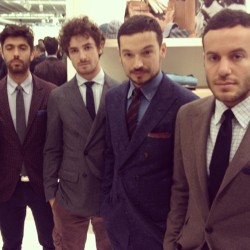 The men of Brunello Cucinelli, #Pitti.