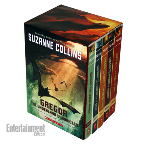 The next best thing to new Hunger Games books: This upcoming reissue of Suzanne Collins's Underland Chronicles, a five-book fantasy series that follows a boy named Gregor as he searches for his missing father in an underground city.