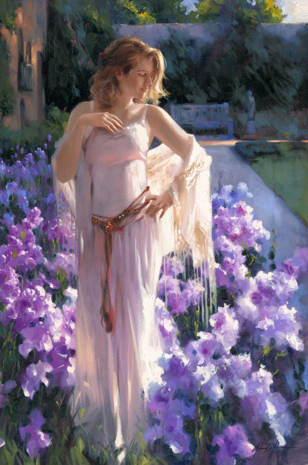 Art by Richard Johnson time favors no one; and if we wait, we can fall in love a second too late.