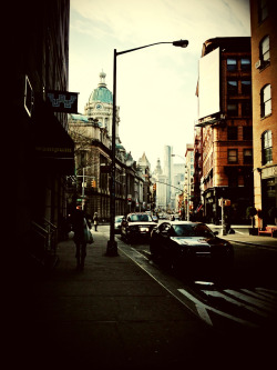 Typical walk to the office, just outside Little Italy!