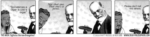 zombiesasametaphor:  Whenever Freud comes up in conversation, I always quote this.