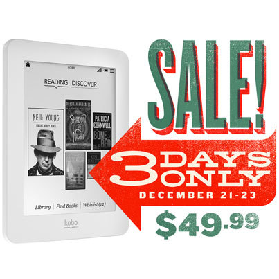 Let's be real Tumblr. You know you want one. Get the Kobo Mini for $49.99!