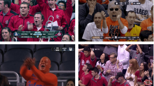 The 8 Happiest Celebration GIFs from the Second Weekend of March Madness [Click to animate] Let the April Madness begin.