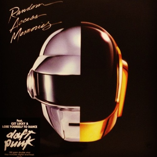 Got this in the mail today 180 gram double vinyl.  @daftpunk - random access memories