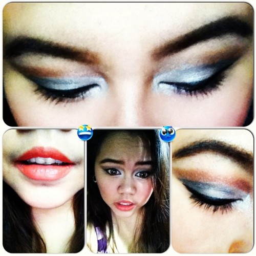Eh kase ang boring.. :) #makeupaddict #makeupoftheday #asia #addict #igasia #igmers #pinay #passion #philippines #makeup #fashion #girlystuff