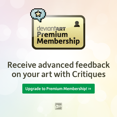 Are you looking for feedback on your artwork? A Premium Membership opens the door to valuable Critiques. Upgrade now!