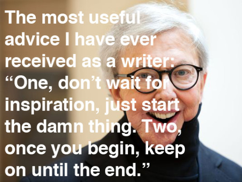 explore-blog:  Wisdom on writing from Roger Ebert (RIP), echoing Chuck Close, E. B. White, Tchaikovsky, Jack White, and Isabel Allende.   What a smart, kind man.