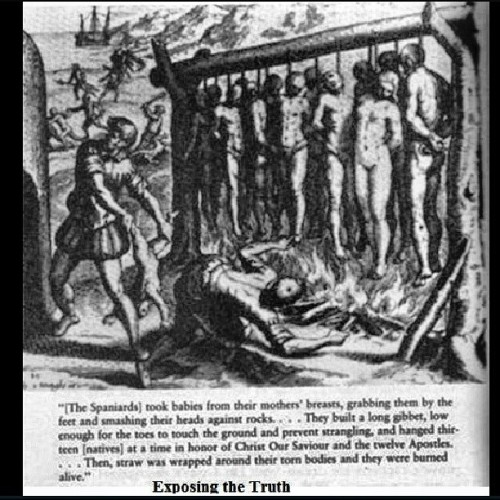 Another 1 of my reasons I am against #columbusday he was a #slave owner and tortured #natives and was a #rapist people been trying to get this day #abolished for the longest only reason he ainf get locked up bc he was fucking the #queen or some shyt know your #history #school teaches you bullshit #education learn to #educate yourself or fall for #lies #culture