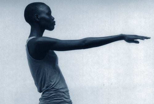 ejakulation:  Grace Bol photographed by Rick Owens for Rick Owens, S/S 2012