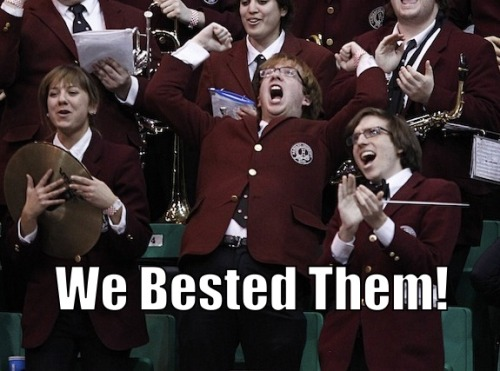Ecstatic Harvard Band Kid needs to be a thing. MORE.