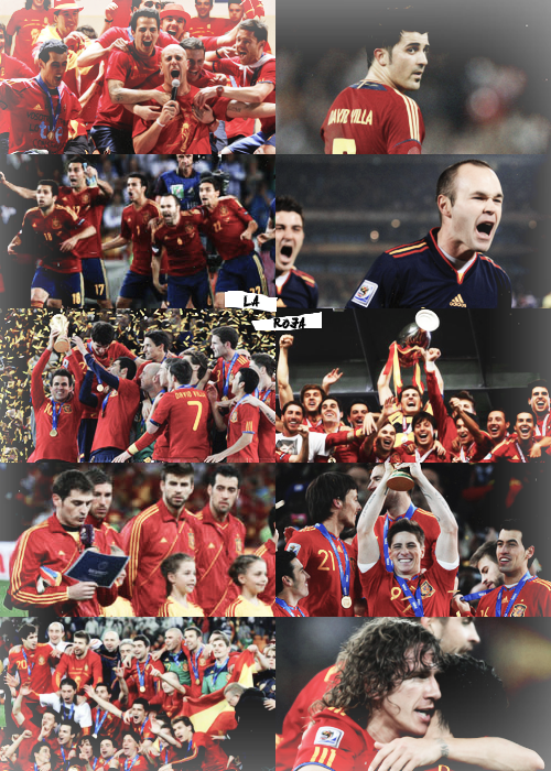 Football challenge | your national team: Spain NT.