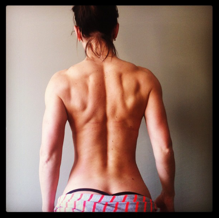 be-a-shreddedkunt-or-die-mirin:  do-squats:  I looooove back muscles! so do i  Unnfff