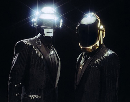 "In the early days, Guy-Manuel de Homem-Christo and Thomas Bangalter — aka the robots that make up the EDM pioneers we know as Daft Punk — appeared on a smattering of press photos and even a magazine cover with their faces exposed, but by the time they released Homework, they had completely retreated behind the robot helmets. There's no doubt the guys are happy with the decision, considering their return auspicious to the public eye in the wake of ""Get Lucky,"" the debut single from their first album in eight years. As Daft Punk obsessives chart the duo's sound over the years, they'll also have opportunity to examine the evolution of their signature helmets, thanks to this poster created a while back by Agent Raybans that was posted on The Daft Club fansite. Check it out below."