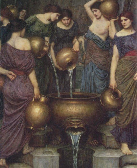 arthistorianmindswirls:  John William Waterhouse, The Danaïdes