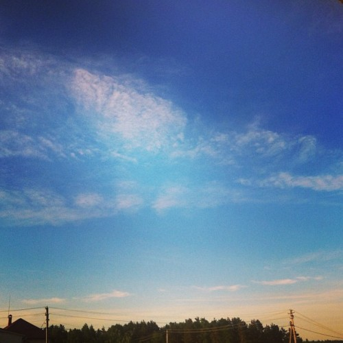 #sky #sunset #summer