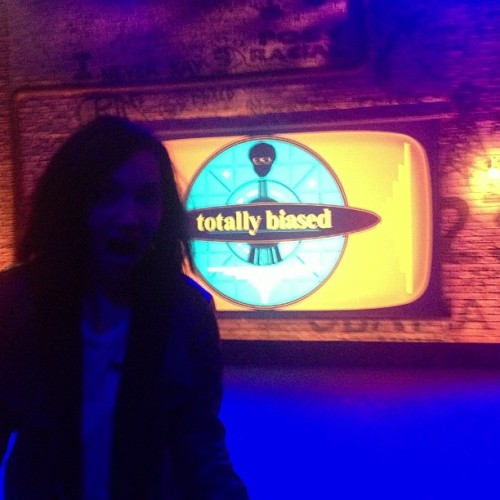 Front row at @fxtv show @totallybiased - new favorite  show! #totallybiased #cilver #cilverband