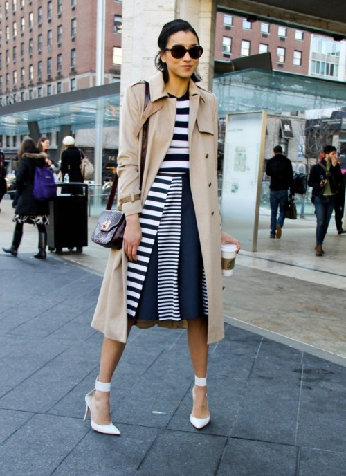 Ya know, what I wish i wore today… olivemylove:  Street style by Stylesight