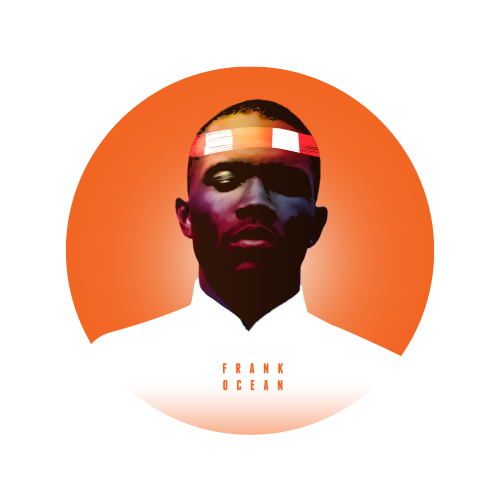 Frank Ocean Illustration by Mahdi Chowdhury