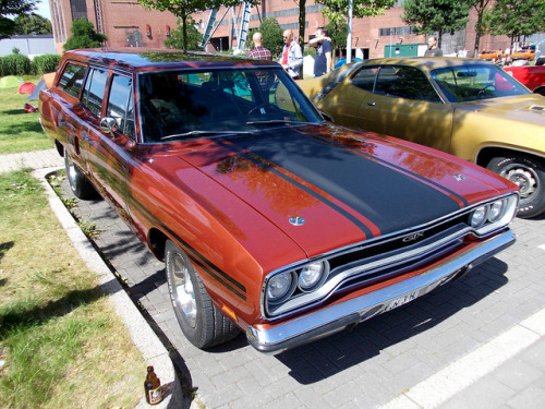 Plymouth GTX Wagon 1970 by Zappadong on Flickr.