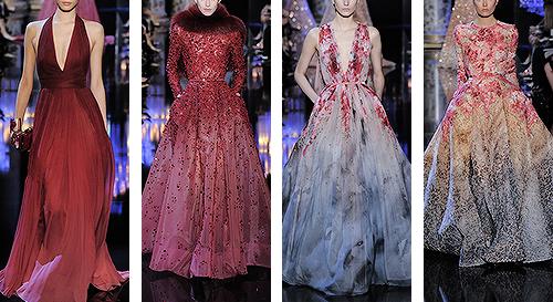 kleinecharlotte:  Fashion meme [2/10] Collections ↳ Elie Saab autumn/winter 2014-15, couture