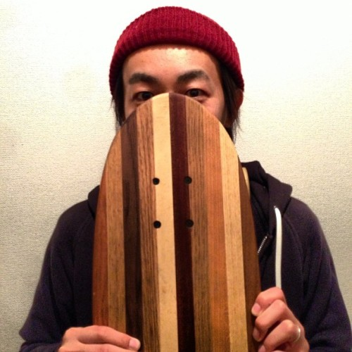 """Toboggan"" the new skateboard brought by @zukkini0330 will be releasing the next lot."