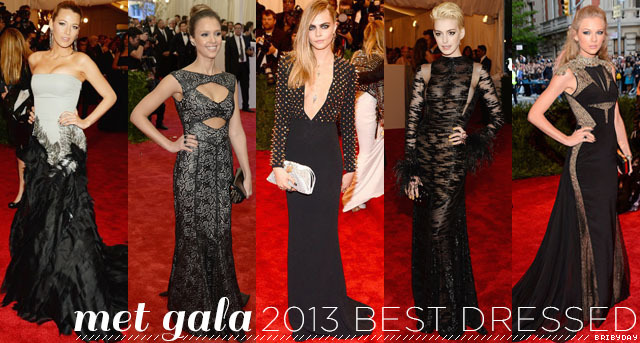 blogged | my top 10 best dressed at this years met gala
