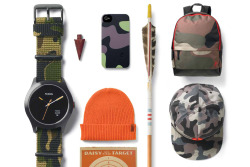 "hypebeast:  Nixon 2013 Spring/Summer ""Camo"" Collection"