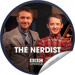 I just unlocked the The Nerdist: Elijah Wood & Ben Schwartz sticker on GetGlue                      2173 others have also unlocked the The Nerdist: Elijah Wood & Ben Schwartz sticker on GetGlue.com                  You're watching an all new episode of The Nerdist, presented by Supernatural Saturday, only on BBC America. Tonight, Elijah Wood is here to give us a look at his new film, and the blazingly funny Ben Schwartz from Parks and Recreation will join us too. We'll discover if Ben and Elijah know the difference between a Doctor Who creature, a men's cologne or an Icelandic rock band; Matt and Jonah attempt to conquer the language barrier between America and the U.K., and comedian Katie Crown classes the joint up. Share this one proudly. It's from our friends at BBC America.