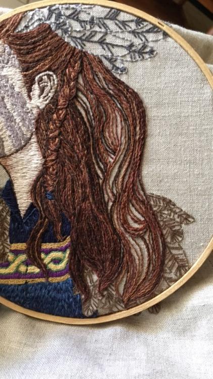 norse gods norse mythology needlework hand embroidery hand embroidery art hand embroidery artist embroidery artists on tumblr artistsoninstagram female artists