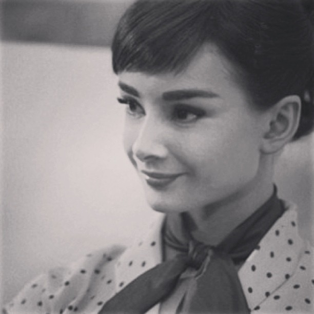 #audreyhepburn #audreyeverlasting #rare #tumblr #oldhollywood #pretty #beautiful #style #fashion