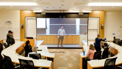 npr:  emergentfutures:  In Cisco's Classroom Of The Future, Your Professor Is Just An Illusion   New telepresence software could let you take a class from anywhere and appear as if you're in the classroom. Full Story: FastCoExist   Cool. Yet, is it really cool? —Wright