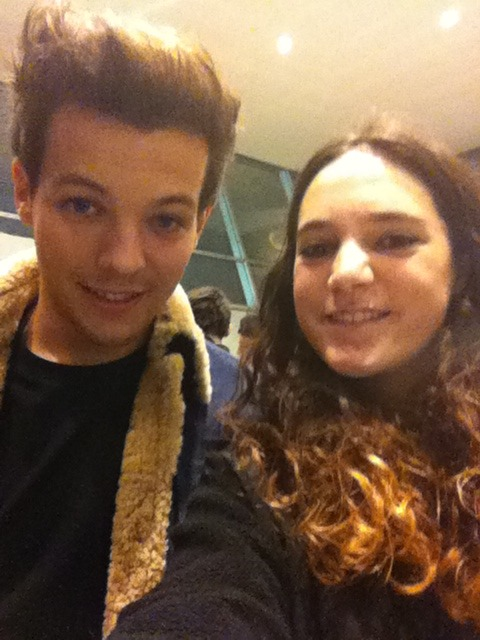 Me and Louis today<3