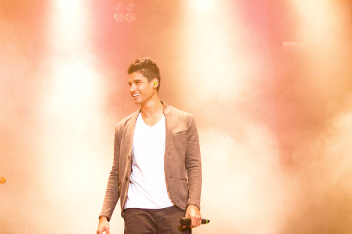 Siva Kaneswaran of The Wanted International Balloon Festival of Saint Jean-sur-Richelieu