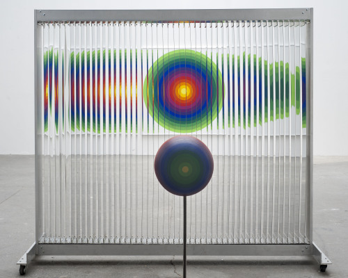 artruby:  Julio Le Parc, Eye of the Cyclops, (2011).   lenticular?