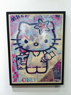 gypsyone:  Hello Kitty by Shepard Fairey