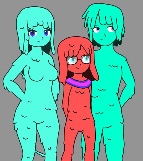 #slime girl#slime#slime boy#fantasy#original character
