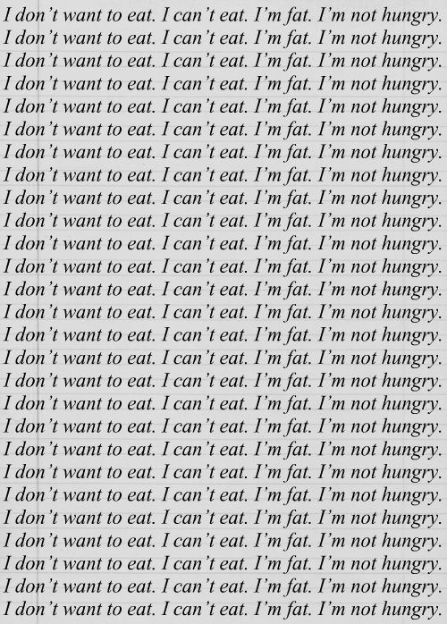 I should write this standards whenever I over eat lol